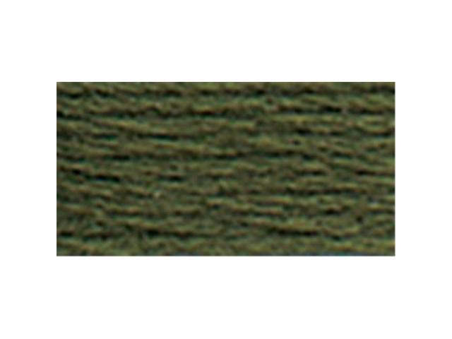 DMC Pearl Cotton Skeins Size 3 - 16.4 Yards-Dark Avocado Green