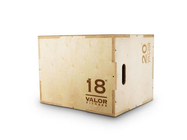 Valor Fitness PBX-B Plyo Jump Box 18-20-24