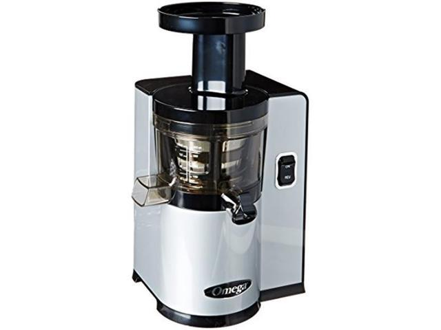 Slow Juicer Horizontal Or Vertical : Omega OMvSJ843QS vertical Slow Juicer, Silver - Newegg.com