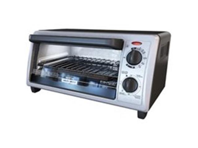 Black Amp Decker TO1322SBD 4 Slice Toaster Oven