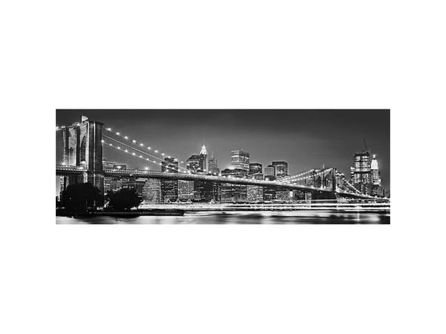 Brewster Home Fashions 4-320 Brooklyn Bridge Wall Mural - 50 in.