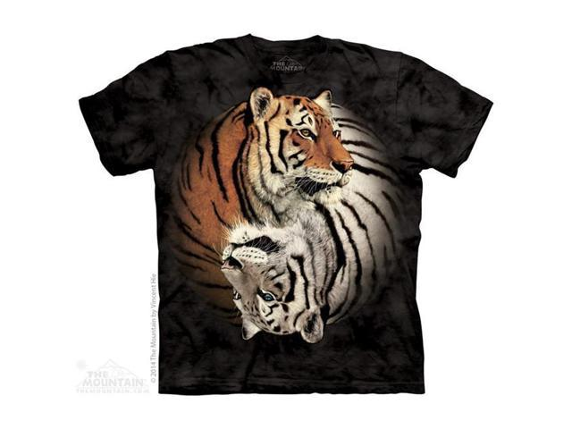 The Mountain 1040490 Yin Yang Tigers T Shirt, Small