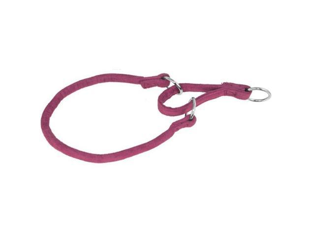 Dogline M8305-7 24 ft. L x 0.5 W in. Comfort Microfiber Round Martingale Collar, Pink
