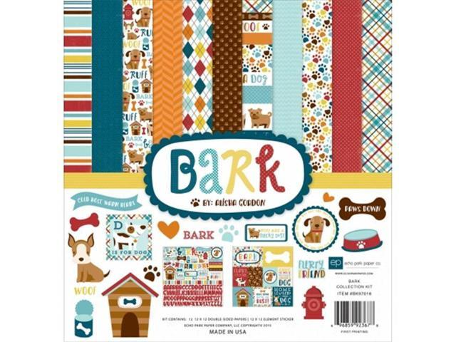 Echo Park Paper BK97016 Collection Kit 12 x 12 in. - Bark