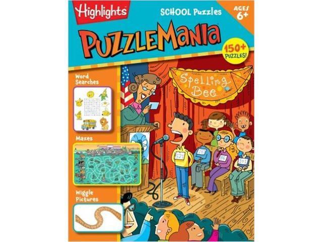 Essential Learning Products 979264 Puzzlemania School Puzzles