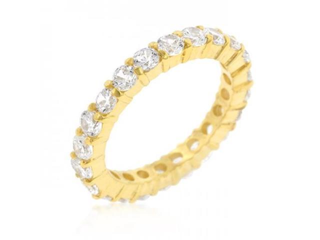 Icon Bijoux R07349G-C01-07 Jessica Band In Goldtone Finish (Size: 07)