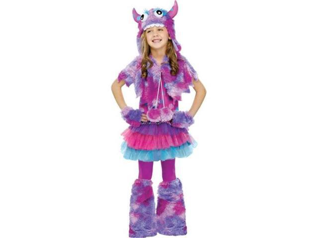 Costumes for all Occasions FW123252LG Polka Dot Monster Chld Lg 12-1