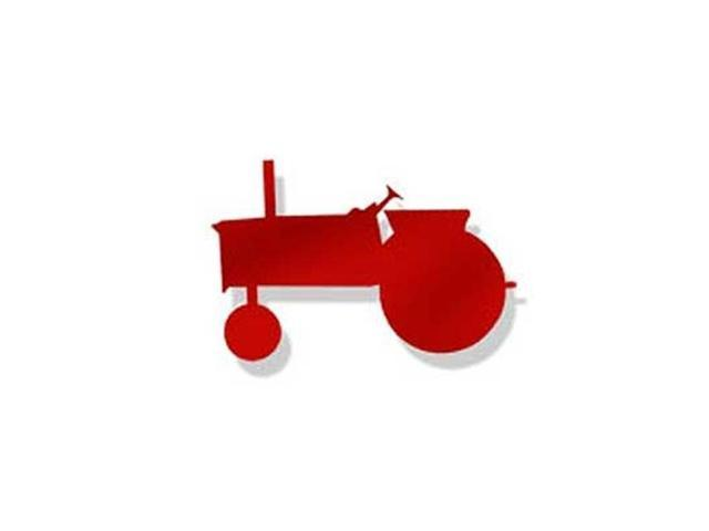 Village Wrought Iron MMB-MAG-217R Tractor Red Magnet