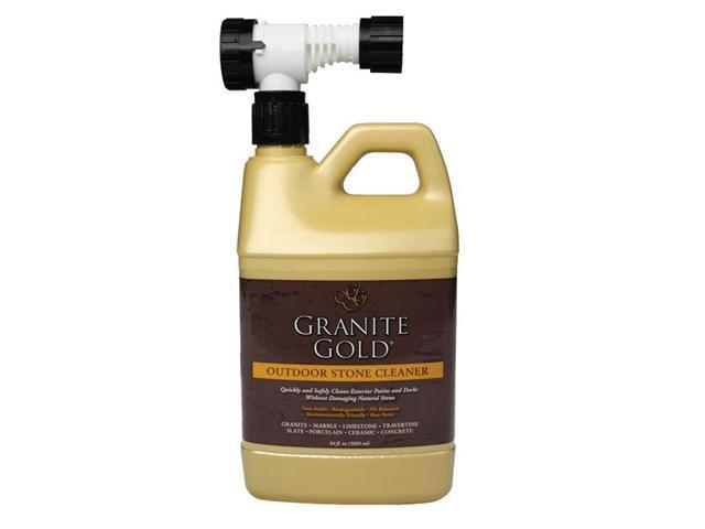 Granite Gold Outdoor Stone Cleaner 64fl oz(1892 ml)