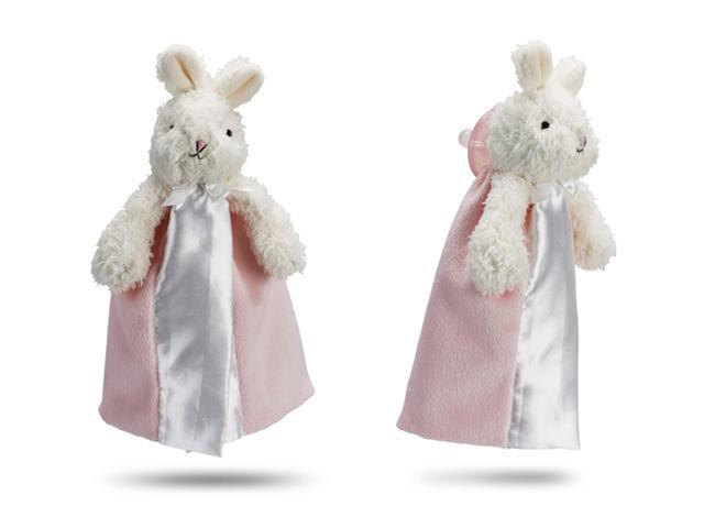 First Friends Pink Bunny With Pacifier - The Friendly Pacifier