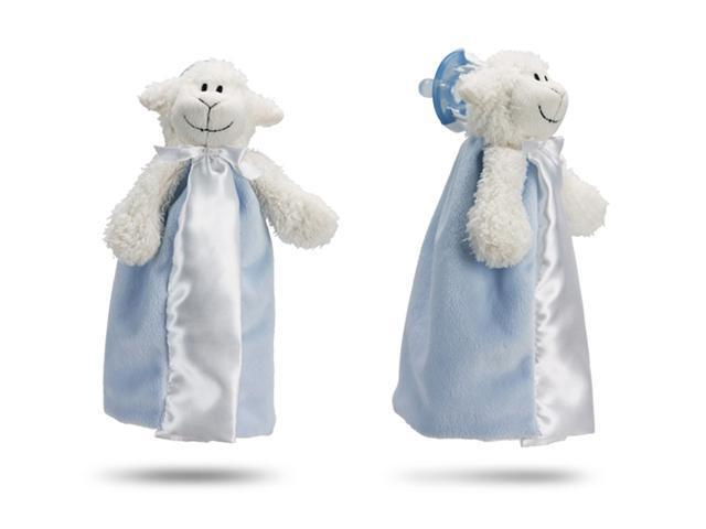 First Friends Blue Lamb With Pacifier - The Friendly Pacifier