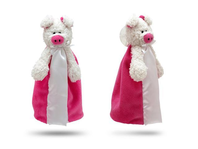 First Friends Pink Pig With Pacifier - The Friendly Pacifier