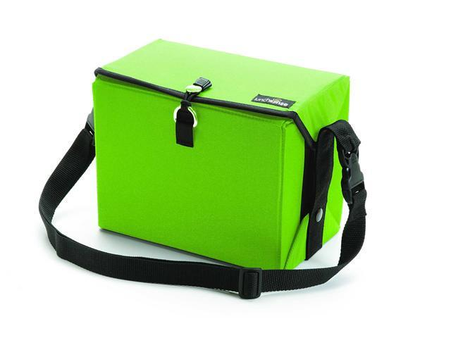 LunchSense Large Lunch Box W/ Food Storage Container Sets - Lime