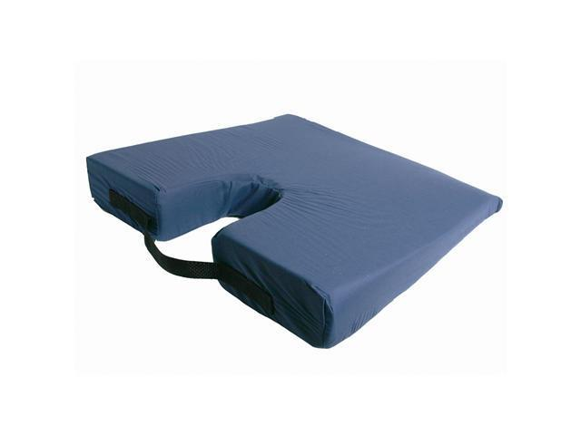 Windsor Direct Sloping Coccyx Cushion With Removable And Washable Cover in Navy