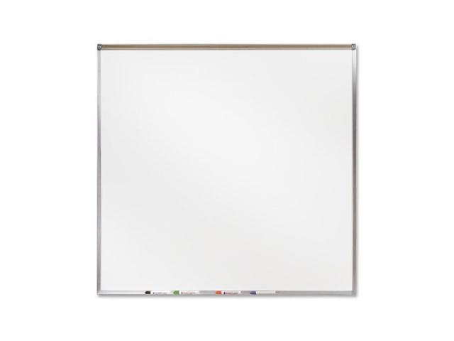 Ghent 4' X 4' Feet Proma Porcelian Multimedia Boards Aluminum Framed Magnetic Projection / Markerboard With 1