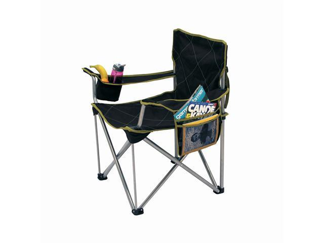 Travel Chair Big Kahuna Chair Large Heavy duty Folding Camping Chair Brown