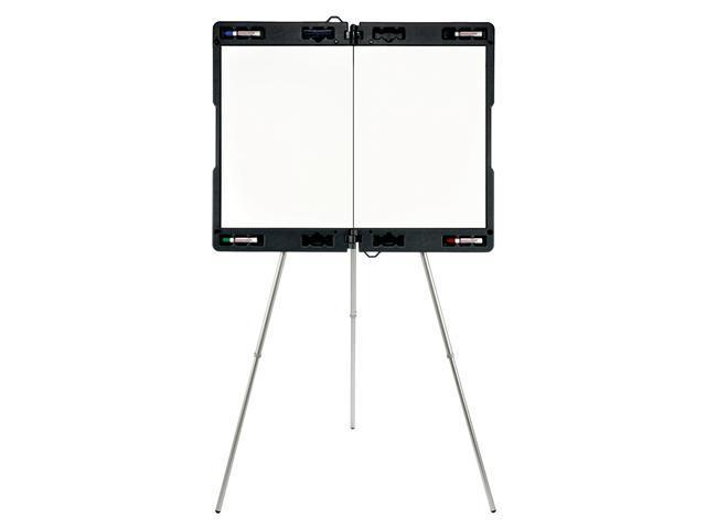 Ghent Manufacturing- Inc GHE19982 Portable Presentation Easel- Extends 23-.50in.x35-.50in.- Gray