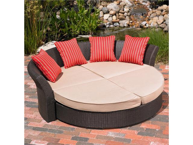 Mission Hills Corinth Daybed Indoor / Outdoor Patio / Lawn And Garden Furniture Set