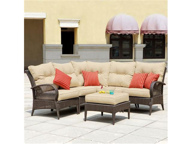 Mission Hills Laguna Seating Indoor / Outdoor Patio / Lawn And Garden Furniture Set