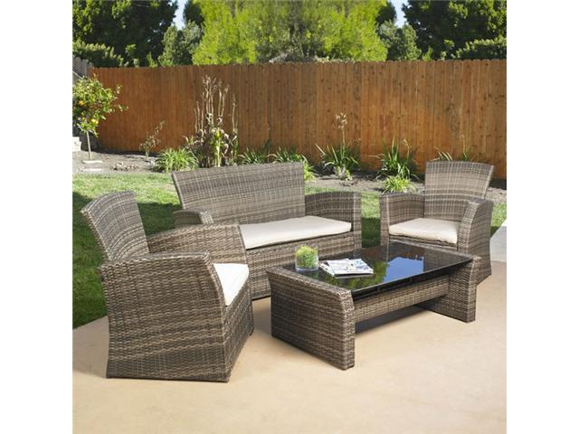 Mission hills redondo seating set indoor outdoor patio for Lawn and garden furniture