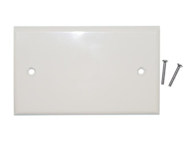 Cable Wholesale Wall Plate Blank Ivory Cover