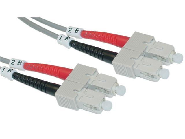 Cable Wholesale SC / SC Multimode Duplex Fiber Optic Cable 50/125 - 2 Meter (6.6ft)