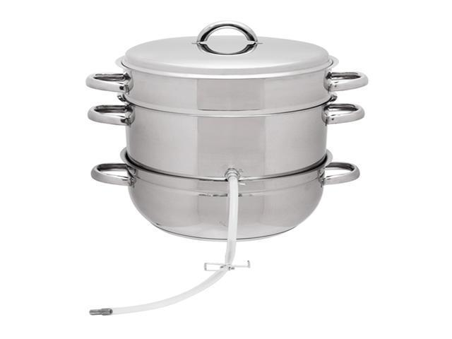 Victorio Multi-Use 8-quart Stainless Steel Steamer Juicer Extractor / Colander