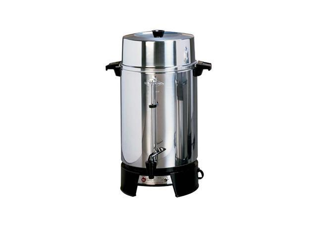 West Bend Commercial 100 Cup Brewing System Coffee Maker / Urn With Faucet