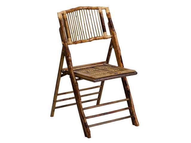 American Champion Bamboo Folding Chair [X-62111-BAM-GG]