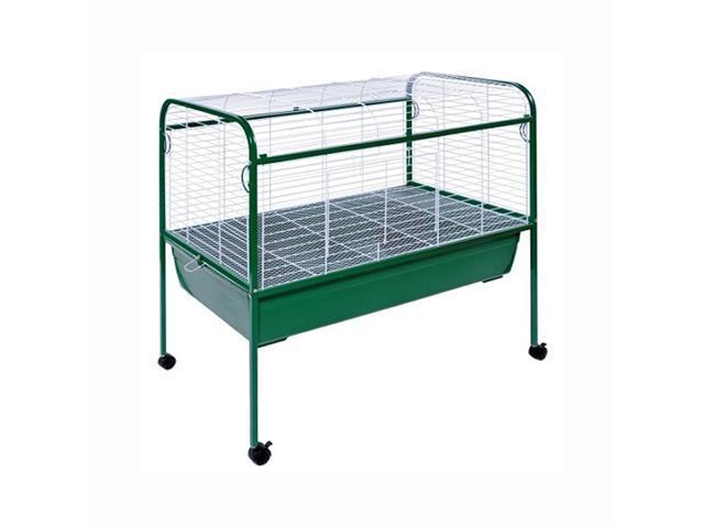 Prevue Hendryx Small Animal Cage with Stand Green & White - 520