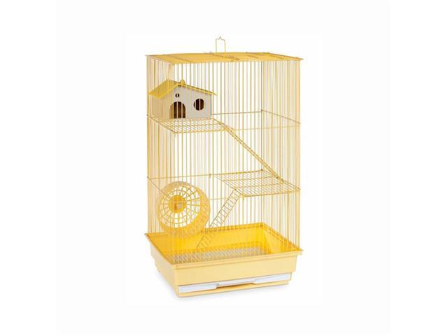 Prevue Hendryx Three Story Hamster & Gerbil Cage Yellow - SP2030Y
