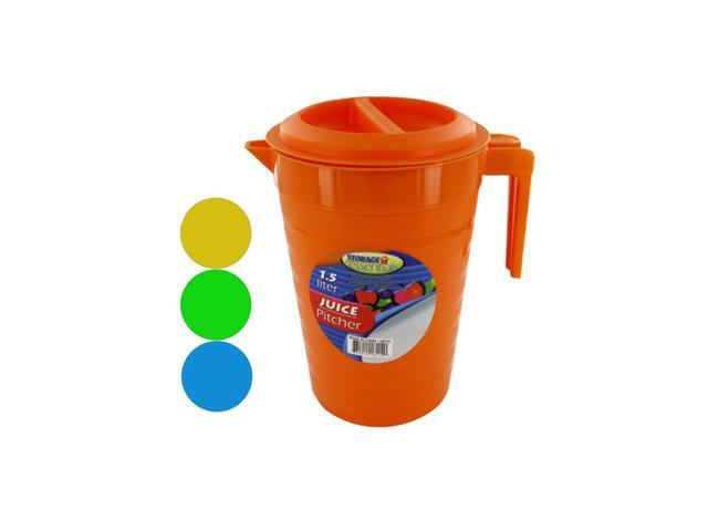 Bulk Buys 1.5 Liter Plastic Water Or Juice Pitcher Container Pack Of 24