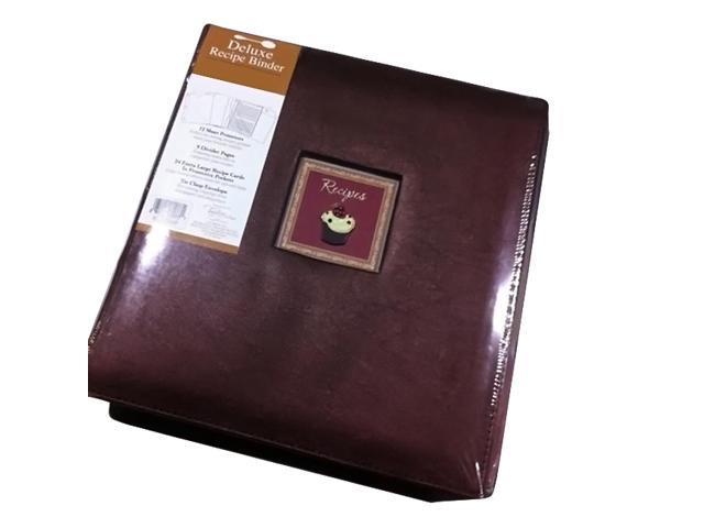 c r  gibson pocket page kitchen recipe binder cookbook