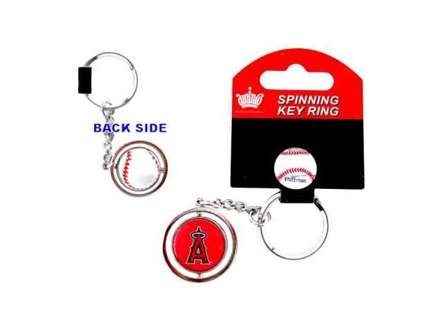 Anaheim Angels 3d Baseball Mlb Team Logo Spinning Key Ring Keychain