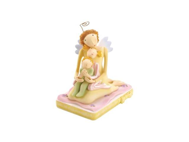 Koehler Home Indoor Decorative I See The Moon Mother Child Angel Religious Beautiful Figurine Statue Collection Accessory
