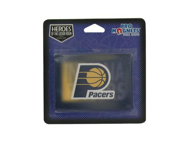 Bulk Buys Sports Team Indiana Pacers NBA Logo Refrigerators Cubicles Lockers Magnet 24 Pack