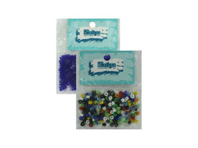 Bulk Buys Home Decor Crafts Jewelry Assorted Seed Beads 10 Pack