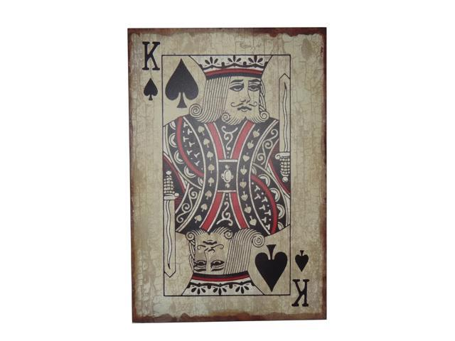 Cheungs King Of Spades Game Home Shuffle  Poker Card Vinyl Decal Sticker