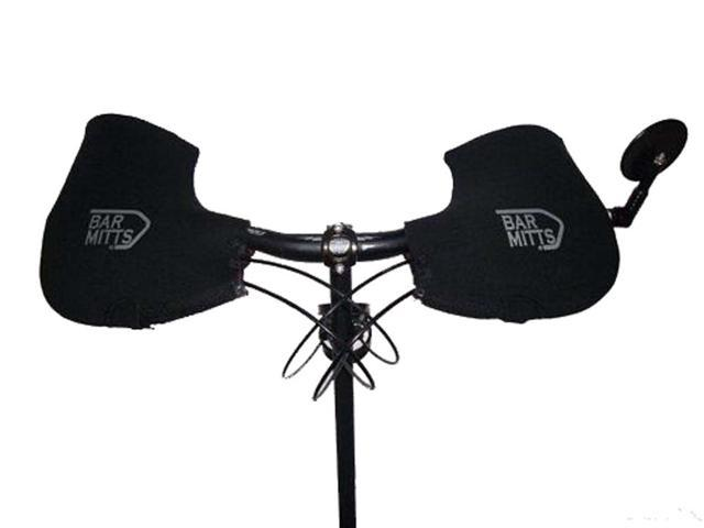 X-Large Mountain Mitts For Bar End Mirror Black