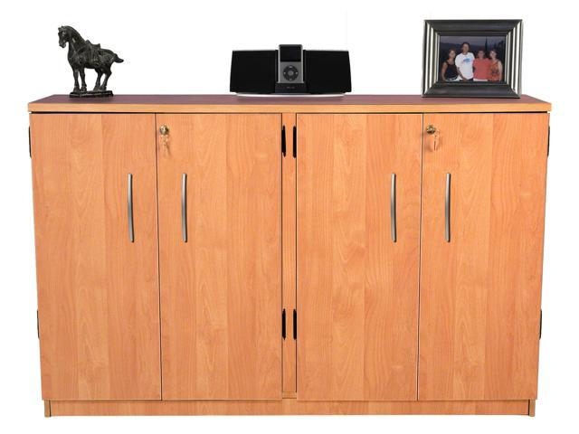 Venture Horizon Double Wide Tape Storage Oak