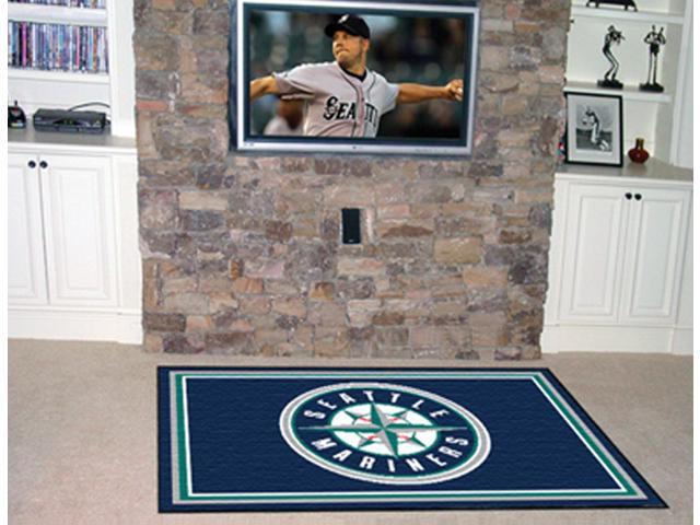 Fanmats  Seattle Mariners 4x6  MLB Printed Rug