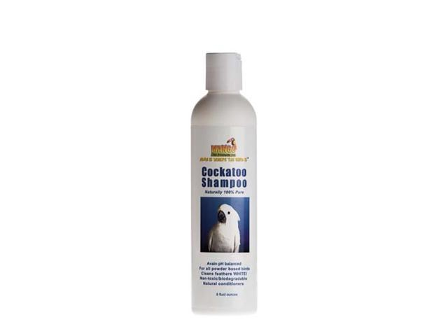 Mango Pet Natural 100% Pure Cockatoo Conditioner Shampoo