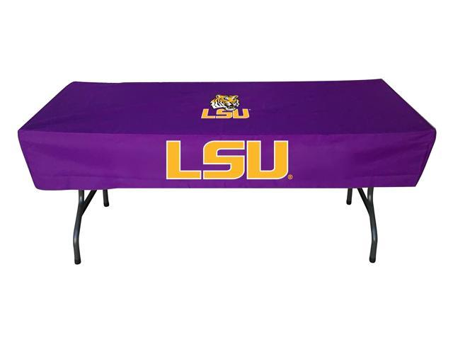 Rivalry Sports College Team Logo LSU 6 Foot Table Cover