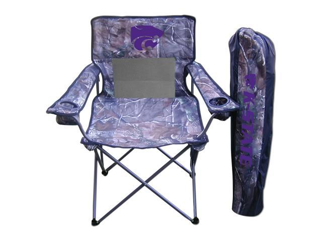 Rivalry Team Logo Camping Picnic Kansas State Realtree Camo Chair