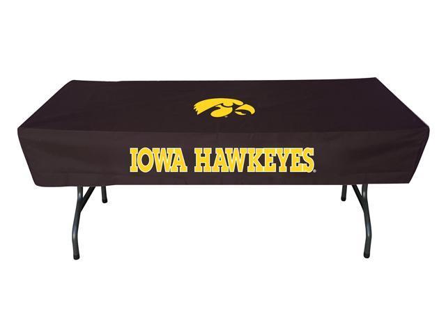 Rivalry Sports College Team Logo Iowa 6 Foot Table Cover