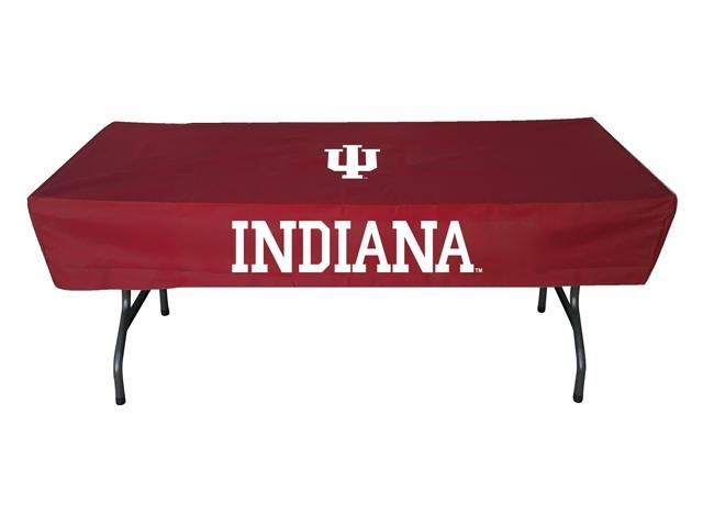 Rivalry Sports College Team Logo Indiana 6 Foot Table Cover