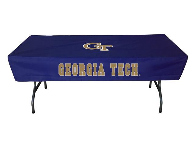 Rivalry Sports College Team Logo Georgia Tech 6 Foot Table Cover