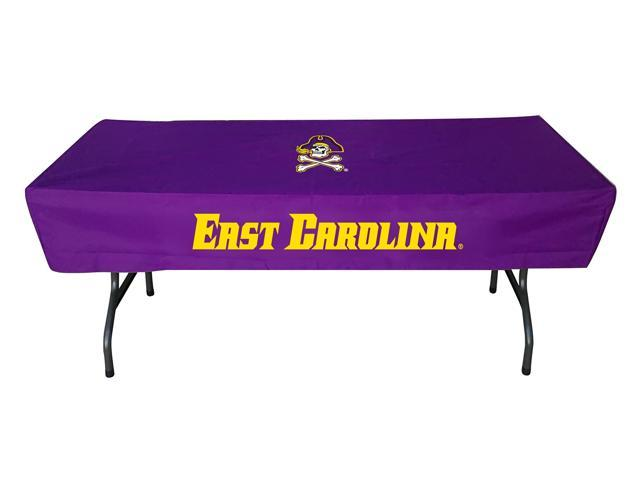 Rivalry Sports College Team Logo East Carolina 6 Foot Table Cover