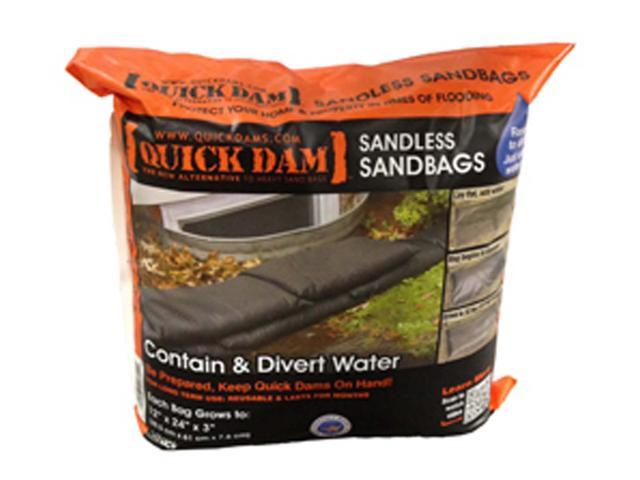 Quick Dam QD1224-6 Sandless Sandbags 12