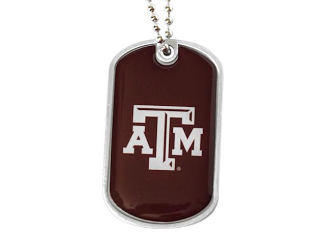 NCAA Texas A&M Aggies Sports Team Logo Fanshop Collectible Gift Dog Tag Necklace
